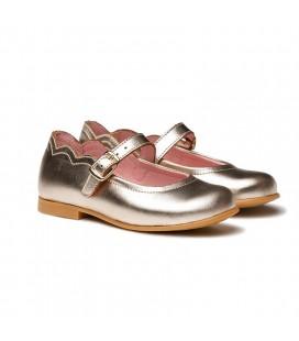Patent Leather Ballerina 1100 gold