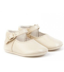 Pram shoes for baby Angelitos 240 beig