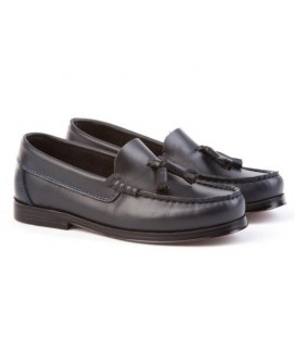 Boys school shoes black Angelitos 594
