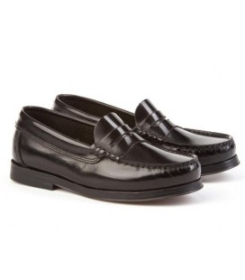Boys loafers Angelitos 592 black