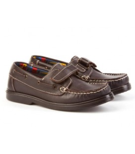 Boys leather shoes Angelitos 591 choco