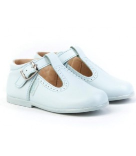 T- bar boys shoes Angelitos 503 baby blue