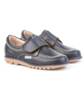 Boys shoes with velcro Angelitos 301 navy