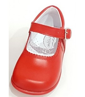 Mary Jane Girls shoes in leather red