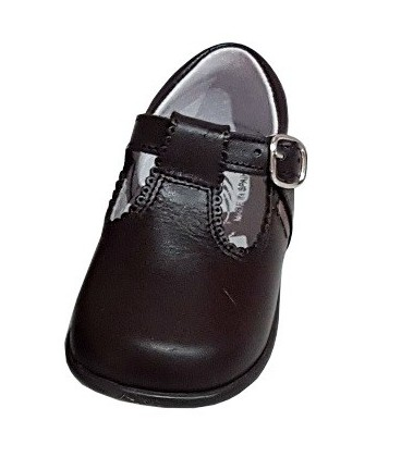 463 Boys shoes in leather brown