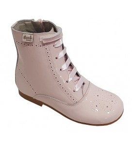 4253 Patent boots pink