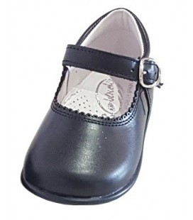 Mary Jane Girls shoes in leather navy 457