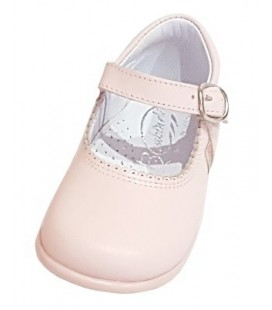Maey Jane Girls shoes in leather pink 457