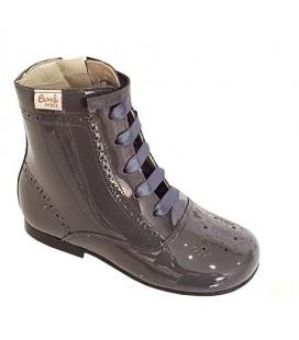 4253 Patent boot dark grey