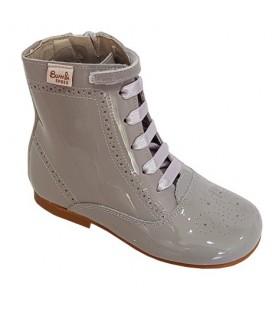 4253 Patent boot light grey