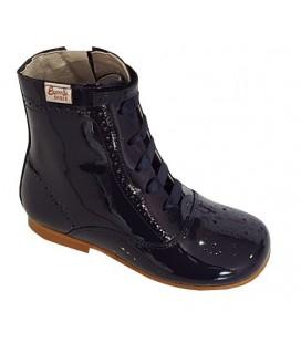 4253 Patent boot navy