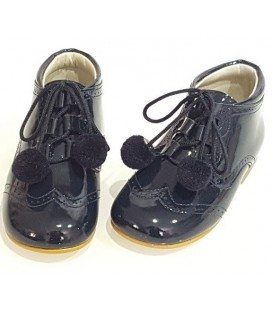 Pom pom shoes navy 4511