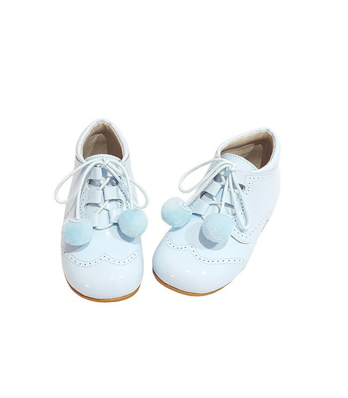 kids boots with pompom high quality