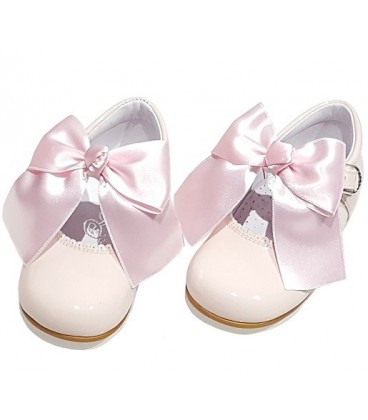 4199 Mary Jane pink with bow