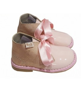 Girls boots patent leather 5151 pink