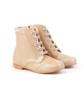 Leather boots Angelitos 600 camel