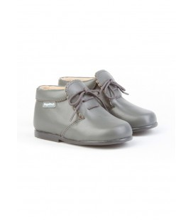 Girls Leather boots Angelitos 422 grey