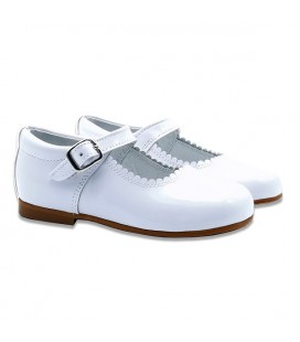 Mary Jane patent leather 4199 white