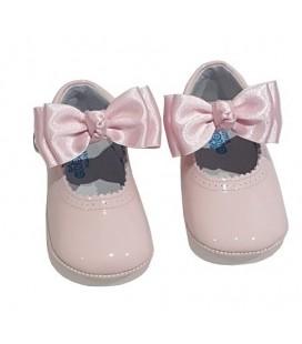 Pram shoes pink 712