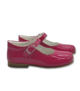 Mary Jane patent leather 4199 bright pink