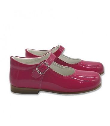 4199 Mary Jane bright pink