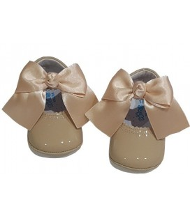 Soft sole shoes camel 712
