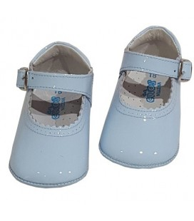 Pram shoes blue 712