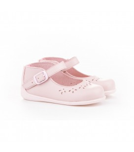 Leather Mary Jane Angelitos 101 pink
